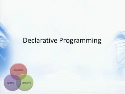 编程语言的发展趋势及未来方向(2):声明式编程与DSL